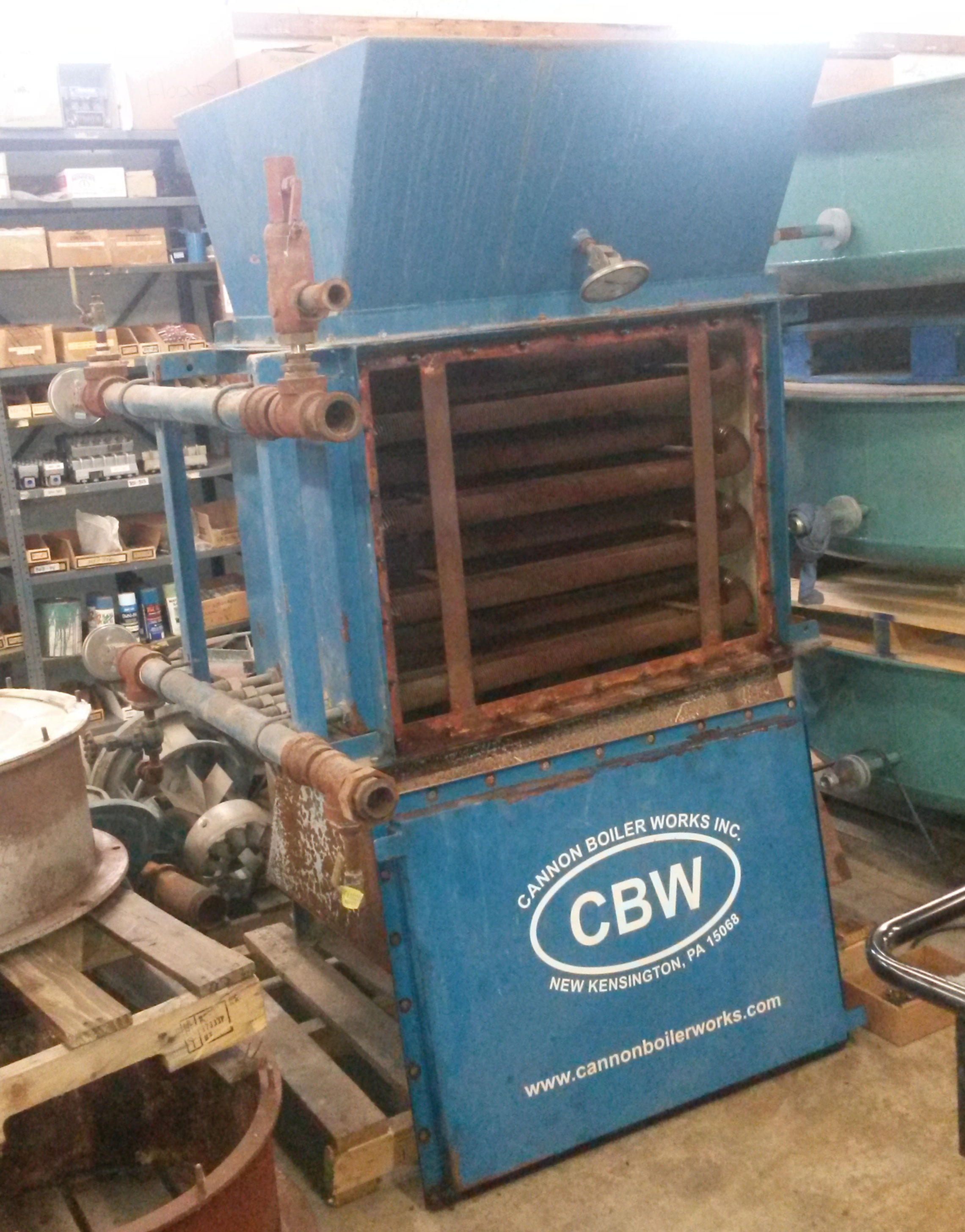 D.B. Johnsen Co. - Boiler Sales and Service - Used Equipment